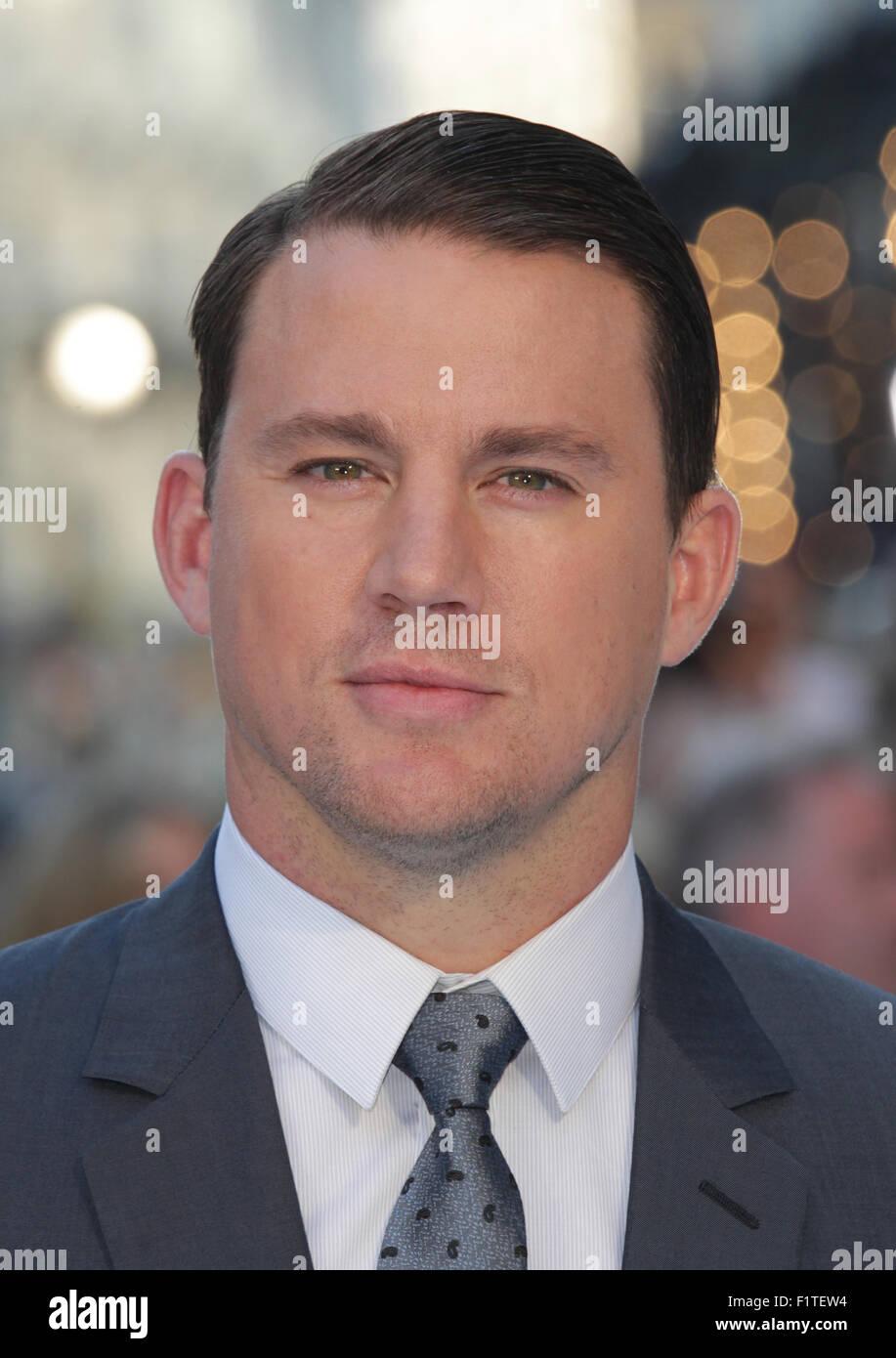 LONDON, UK, 30. Juni 2015: Channing Tatum besucht den Magic Mike: XXL - britischen Filmpremiere, Leicester Square Stockfoto