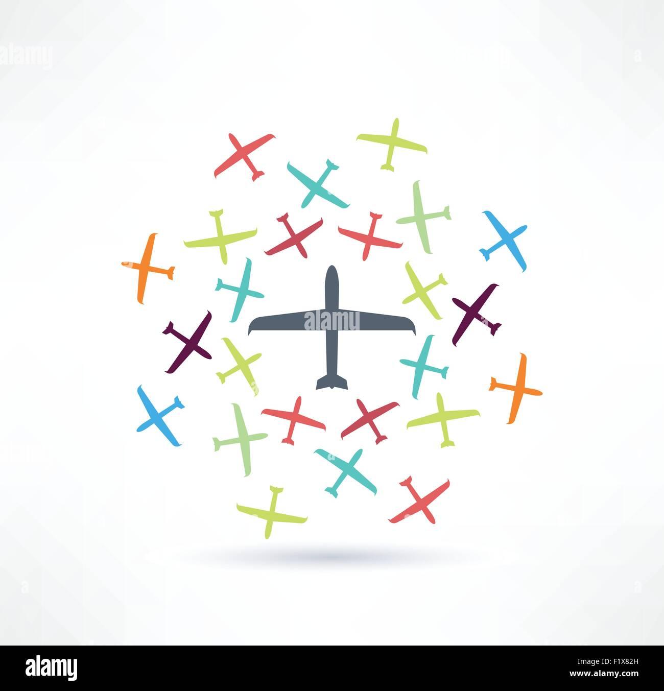 Ausgezeichnet Flugzeug Schaltplan Symbole Fotos - Elektrische ...