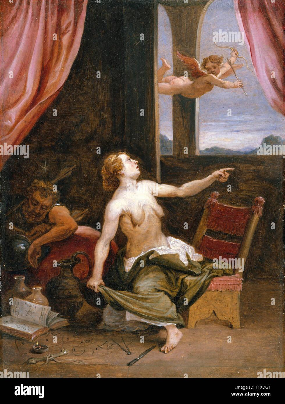 David Teniers der jüngere - Alter auf der Suche nach Jugend Stockbild