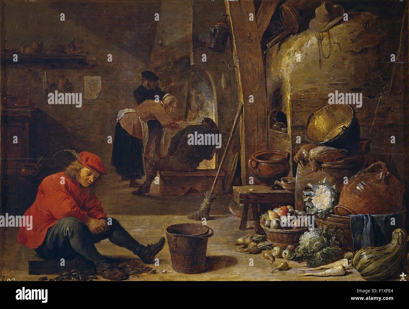 David Teniers der jüngere - die Küche Stockfoto, Bild: 87249404 - Alamy