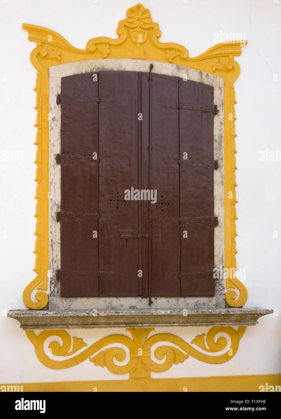 Alte reich verzierten Stein Rahmenfenster Stockfoto, Bild: 87249498 ...