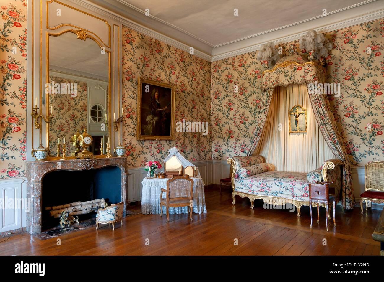 Louis Xiv Bedroom Stockfotos & Louis Xiv Bedroom Bilder - Alamy