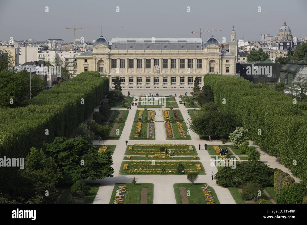 Frankreich, Paris, place Valhubert, Jardin des Plantes (Luftbild ...