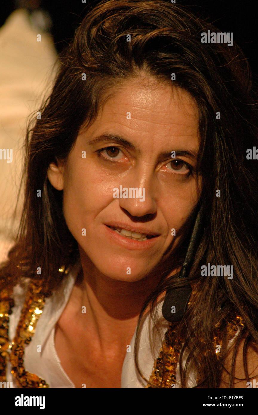 "Smadar Yaaron - Theaterproduktion ""Wishuponastar - A Fatal Love Story"" (Regie Und Konzept Ebenfalls sterben Stockbild"