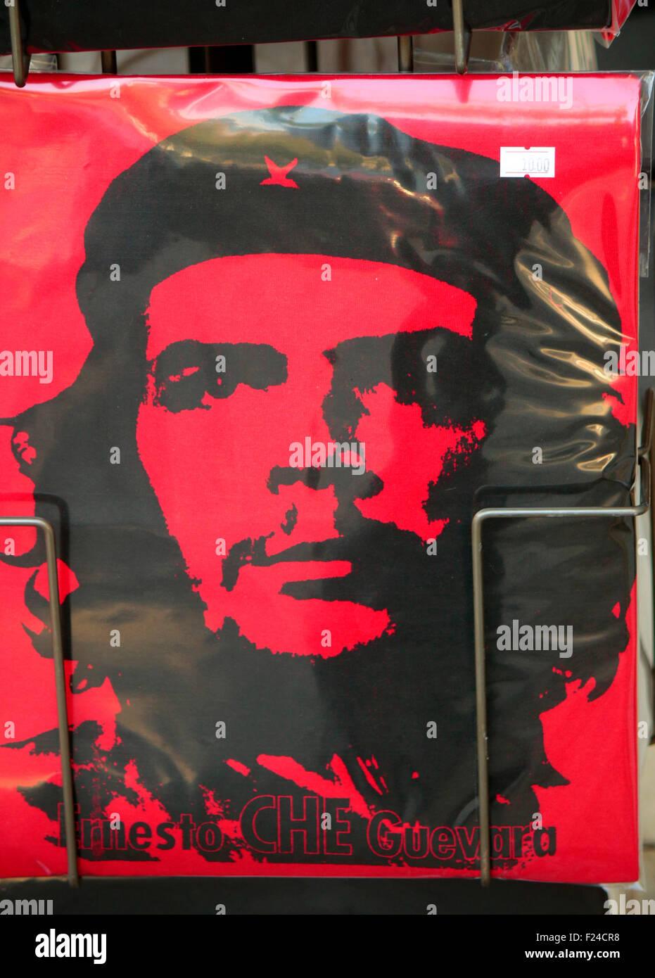 Che Guevara, Berlin. Stockbild