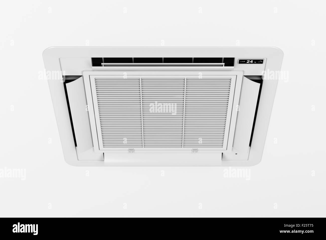 Decke montiert Kassette Typ Air conditioner Stockbild