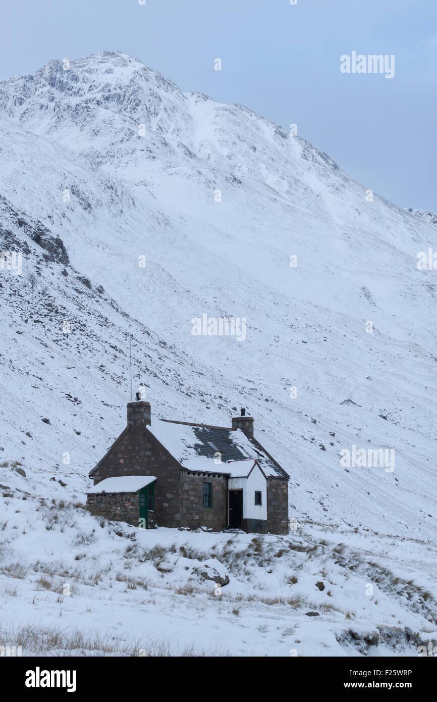 Glen Licht Haus, Glen Licht, Kintail, North West Highlands, Schottland, UK Stockbild