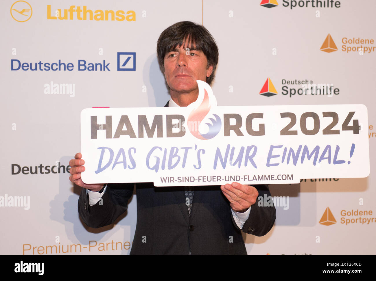 Hamburg Deutschland 12 Sep 2015 Trainer Der Deutschen Fußball