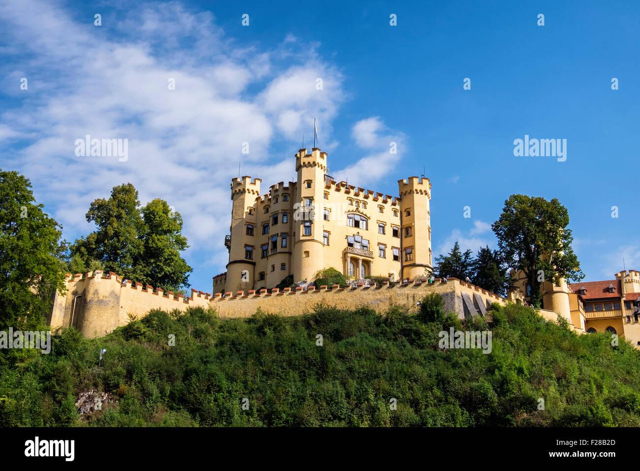 Schloss Hohenschwangau, Schloss ist ein Palast des 19