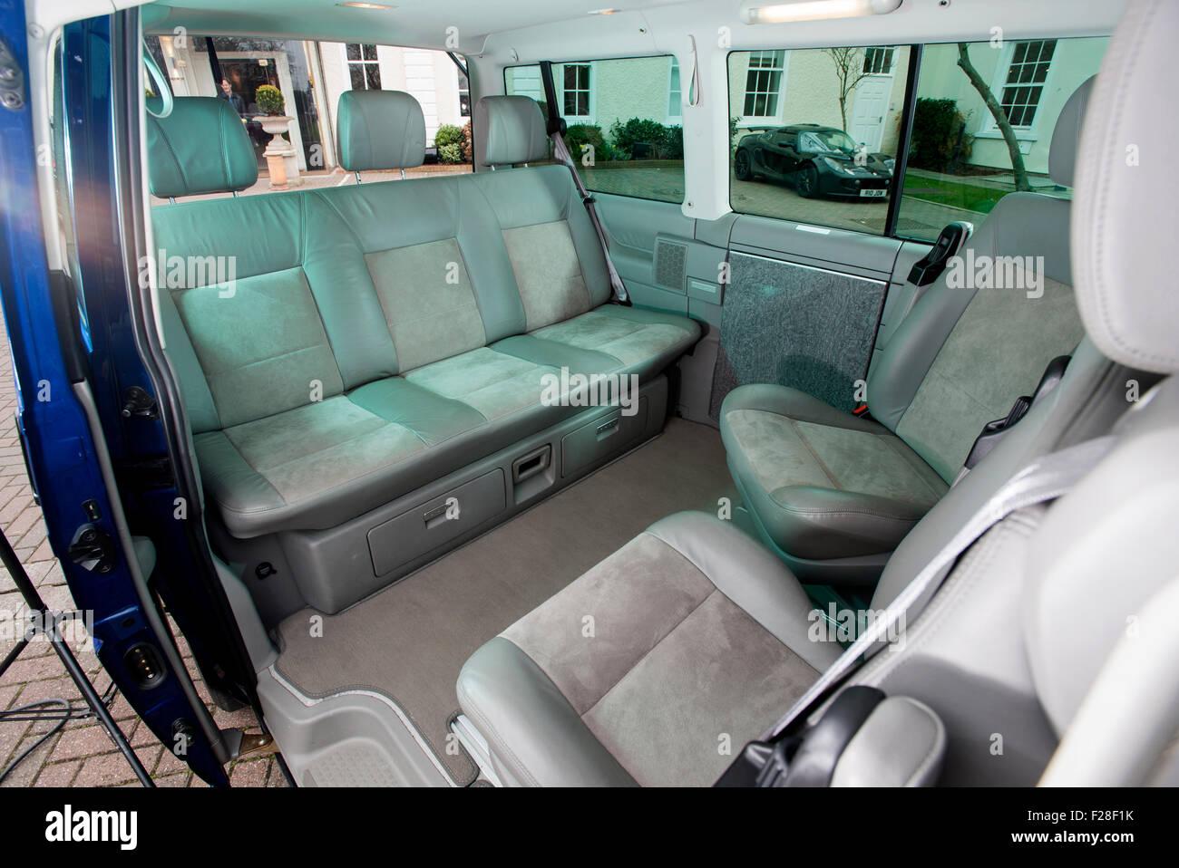 2001 Volkswagen T4 Camper van Interieur Stockfoto, Bild: 87468575 ...