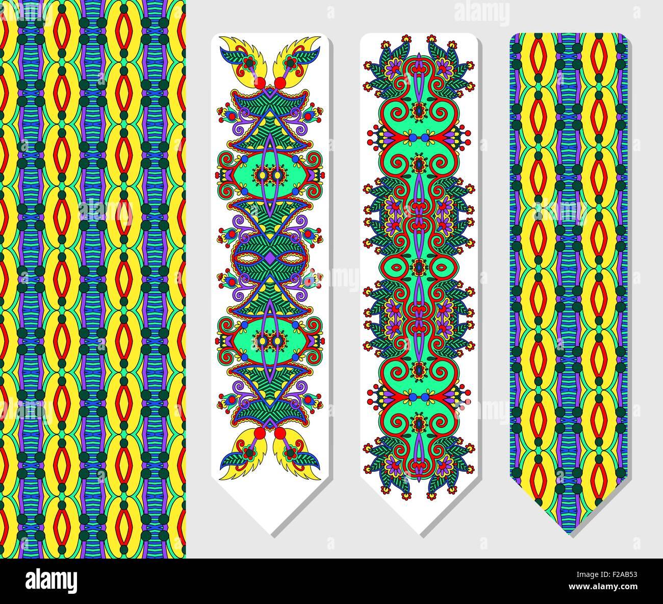 Turbo Blumen dekorative ethnischen paisley Lesezeichen zum ausdrucken DN58