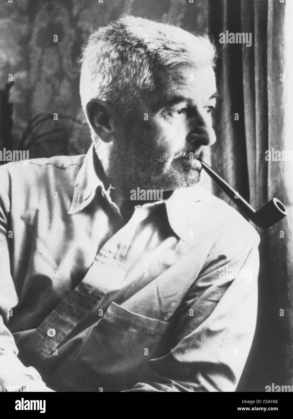 """William Faulkner, gewann den Nobelpreis für Literatur im Jahr 1949. Das Nobel-Komitee lobte """"seine kraftvoll Stockbild"""