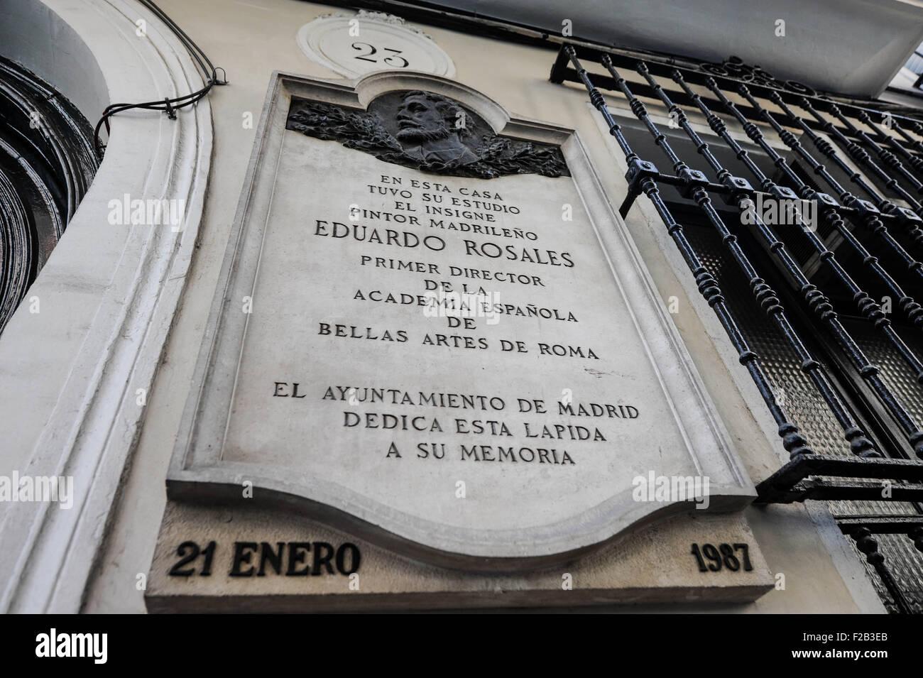 Haus von Eduardo Rosales-Casa de Eduardo Rosales Stockbild