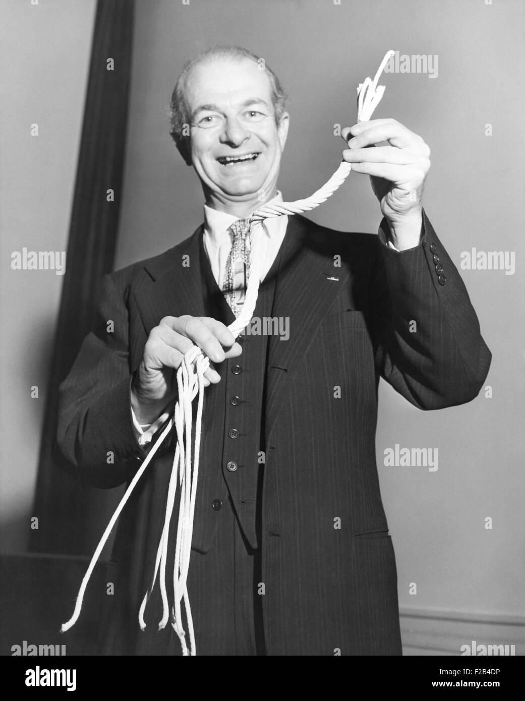 Linus Carl Pauling erhielt 1954 den Nobelpreis für Chemie. 1962 erhielt er für seinen Aktivismus Frieden Stockbild