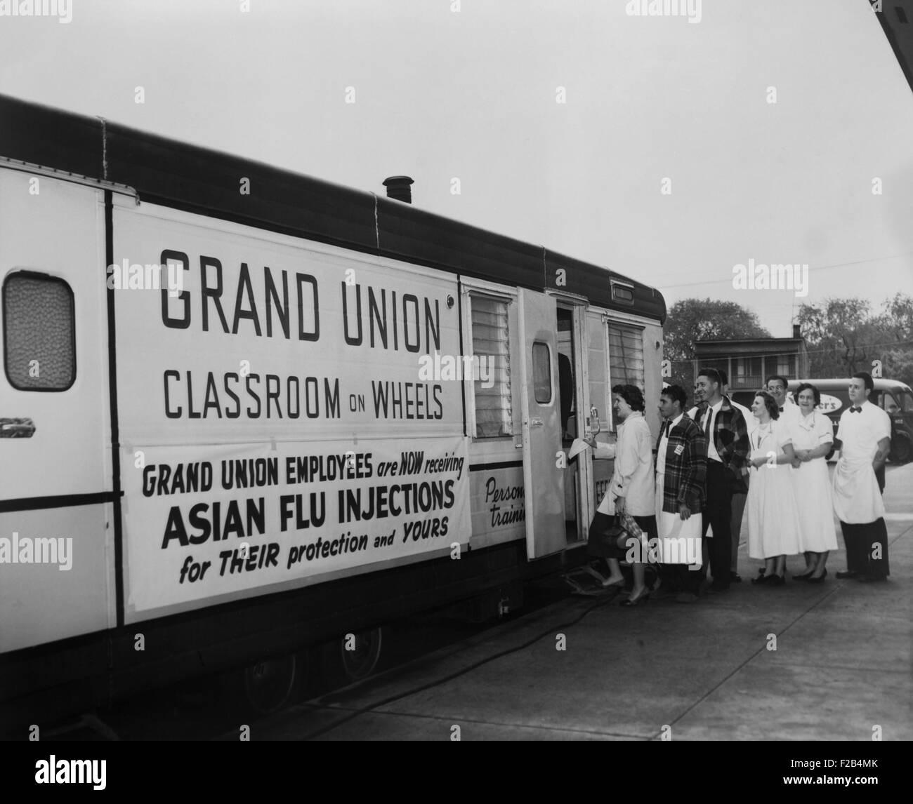 Asiatische Grippe 1957