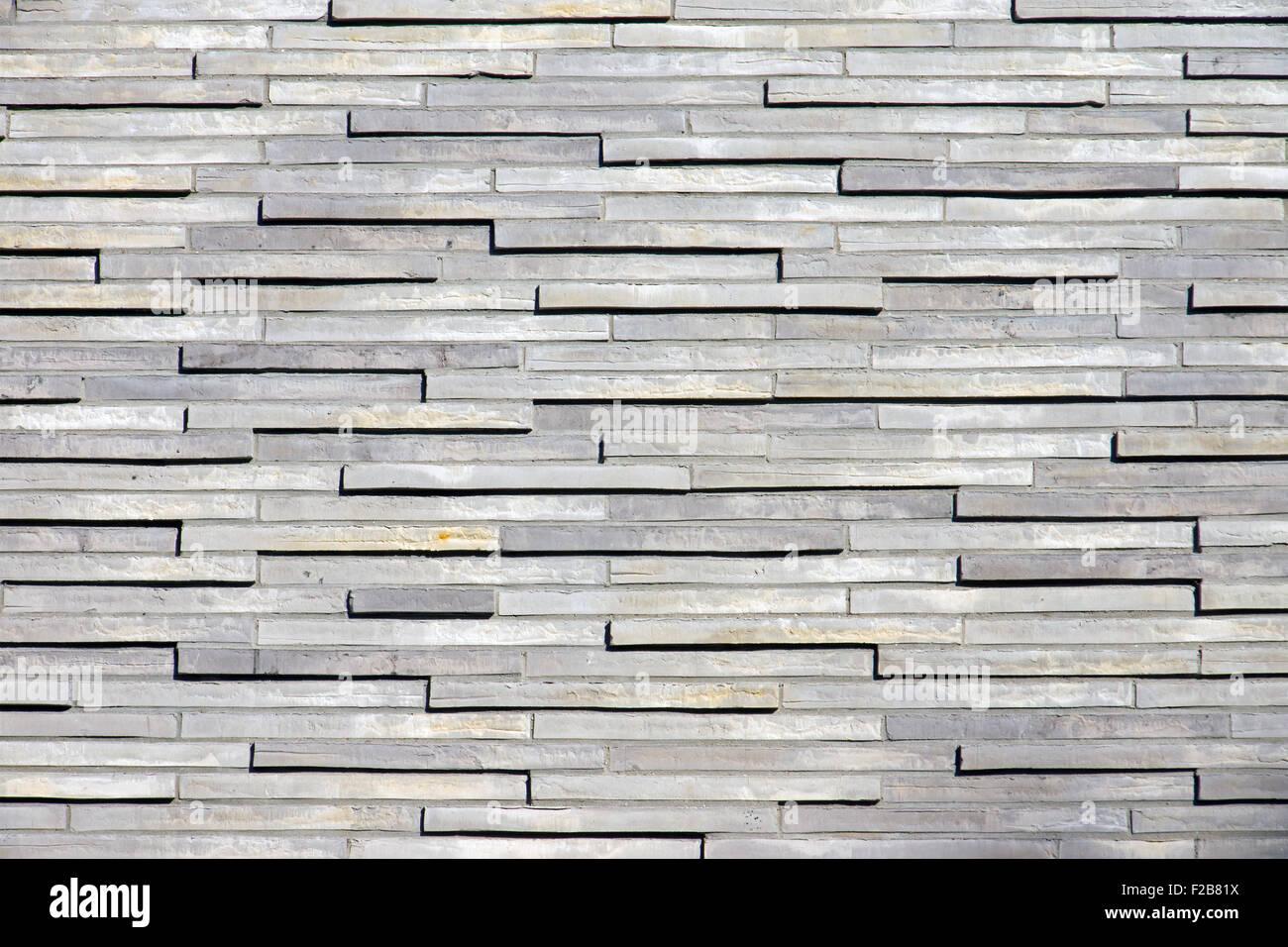 Schöne Wand aus kleine graue Granitsteine Stockfoto, Bild: 87528950 ...