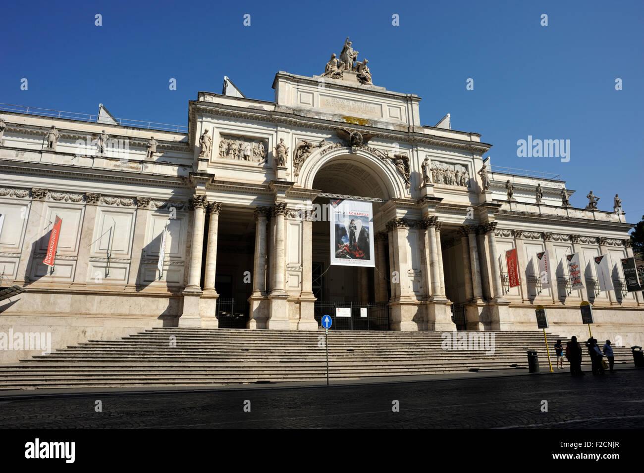 Delle stockfotos delle bilder alamy for Palazzo delle esposizioni via nazionale roma