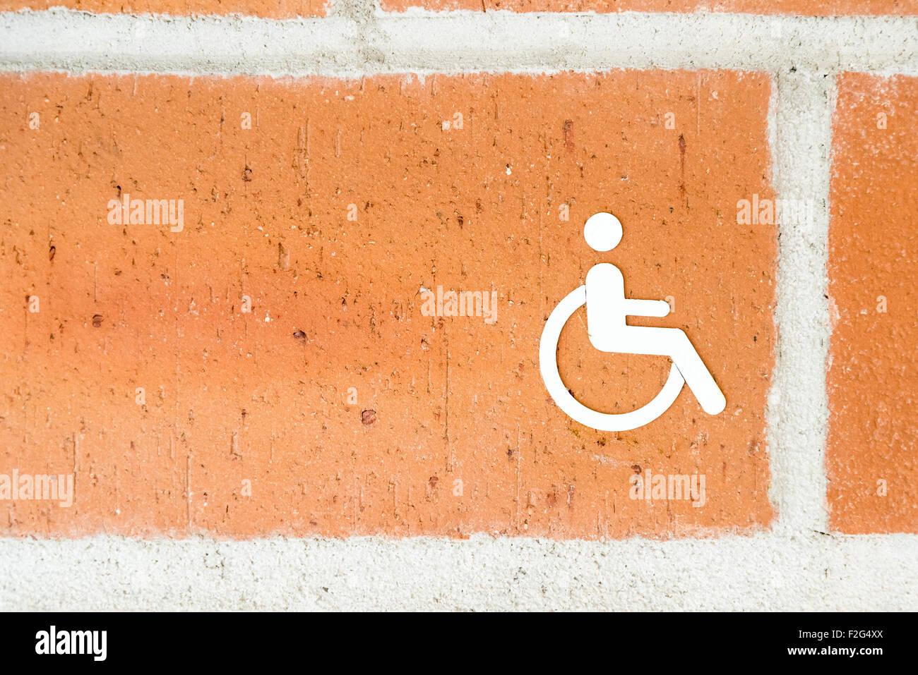 öffentliche Toilette Für Besondere Menschen Mit Behinderungen