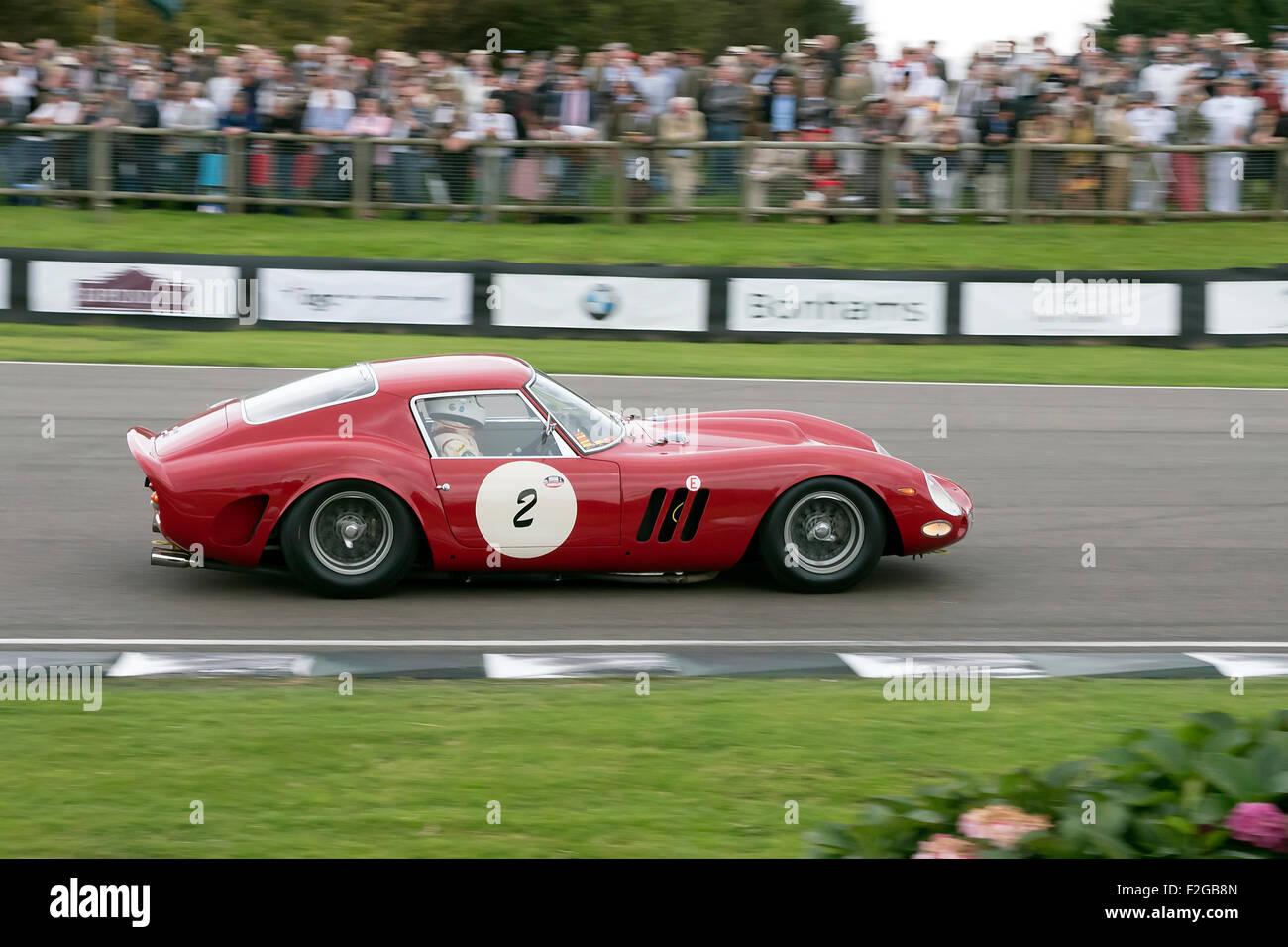 Motor Racing Ferrari Paddock Stockfotos & Motor Racing Ferrari ...