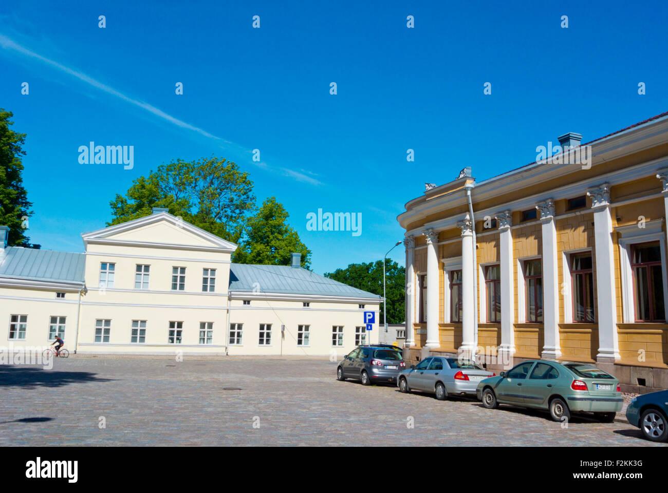 Tryckerihuset, Åbo-Akademie, schwedische Sprache Universitätscampus, Turku, Finnland Stockbild