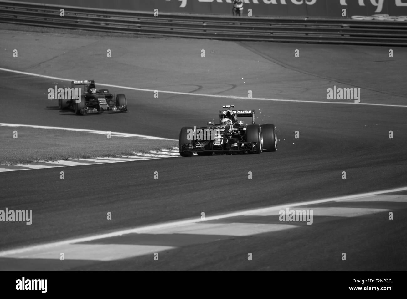 Spa Francorchamps Formel 1 2015 Saison Williams üben Freitag