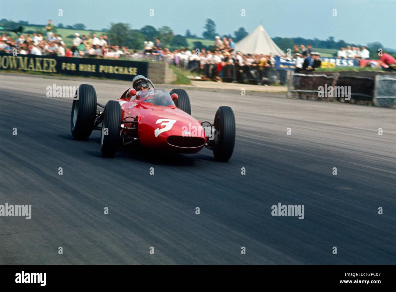 1960er Jahren BRM Rennwagen Stockbild
