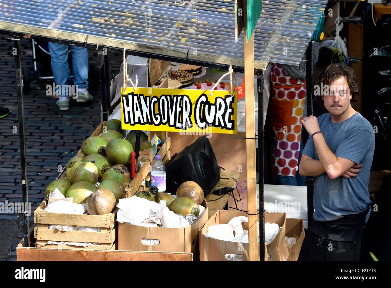 """London, England, Vereinigtes Königreich. Camden Market - Stall zu verkaufen """"Kater"""" Stockbild"""