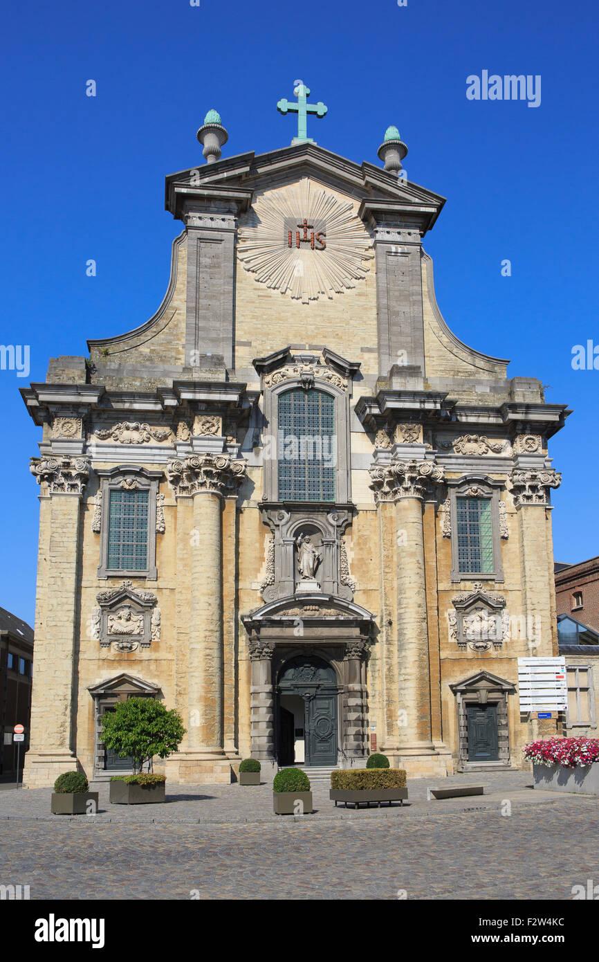 Die Church of Saint Peter and Saint Paul in Mechelen, Belgien Stockbild