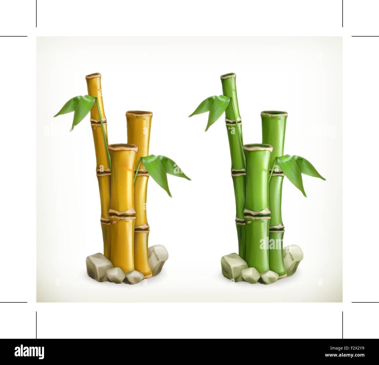 Bambus Vektor Icon Vektor Abbildung Bild 87854237 Alamy