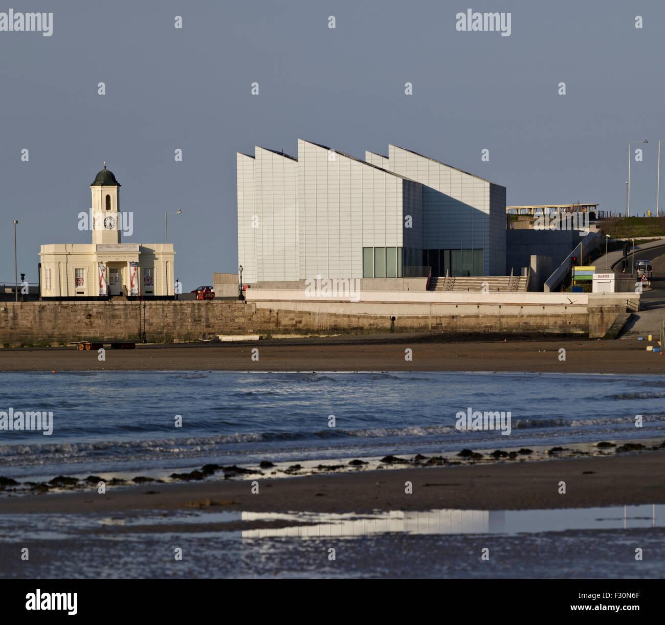 Margate Turner Contemporary Galerie 2008-11by David Chipperfield. Stockbild