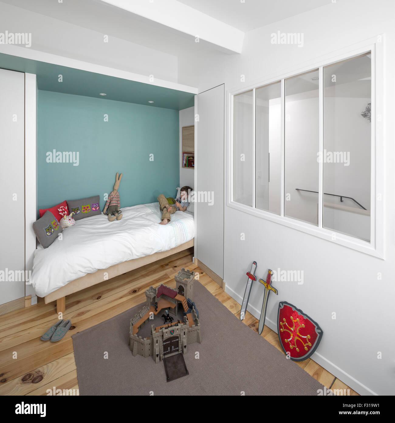 Ein Kleiner Raum Kinderzimmer Frankreich Petite Chambre D