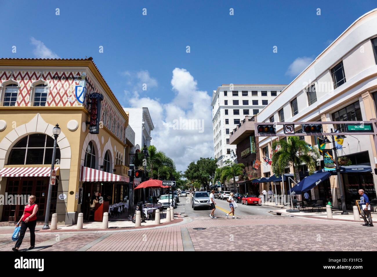 West Palm Beach Florida Arts & Entertainment District Clematis ...