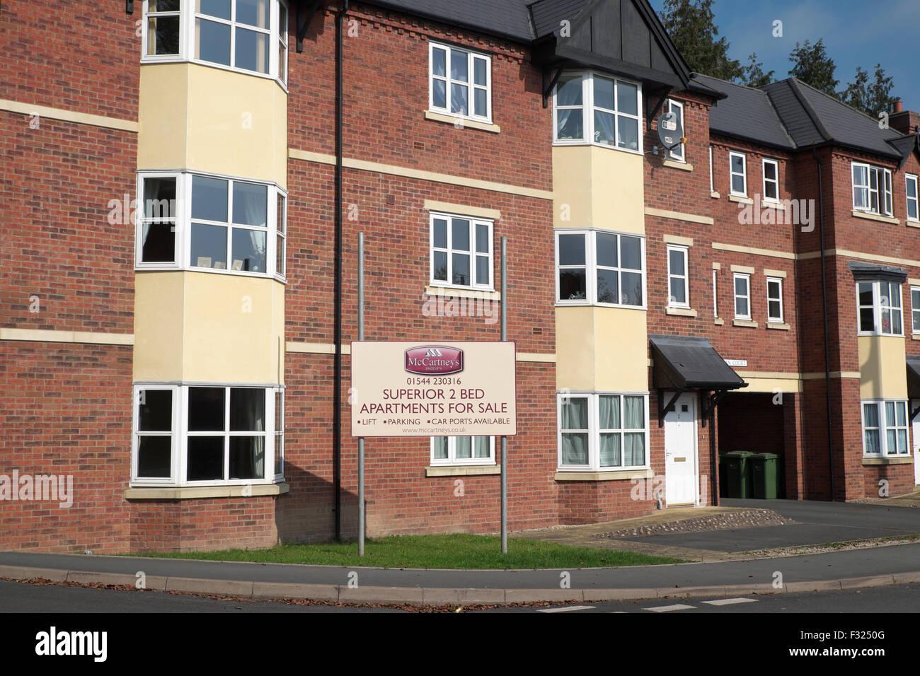 Kington Herefordshire neues Build zwei Schlafzimmer Wohnungen ...