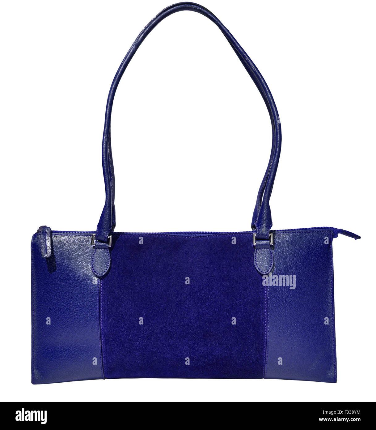 32305947c9aa7 Blaue Handtasche Stockfotos   Blaue Handtasche Bilder - Alamy
