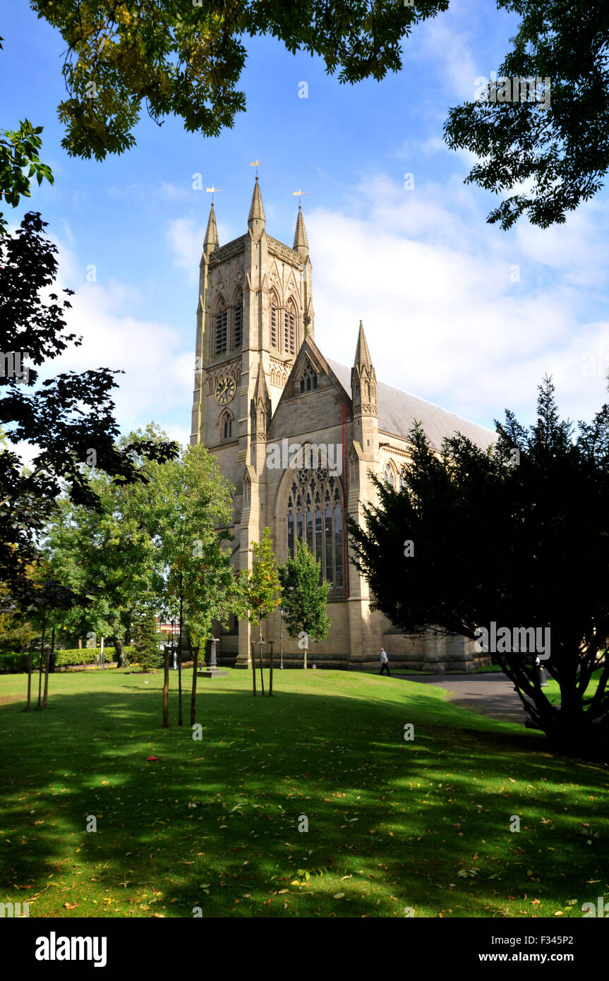 Bolton Pfarrkirche, Bolton, England. Bild von Paul Heyes, Dienstag, 29. September 2015 Stockbild