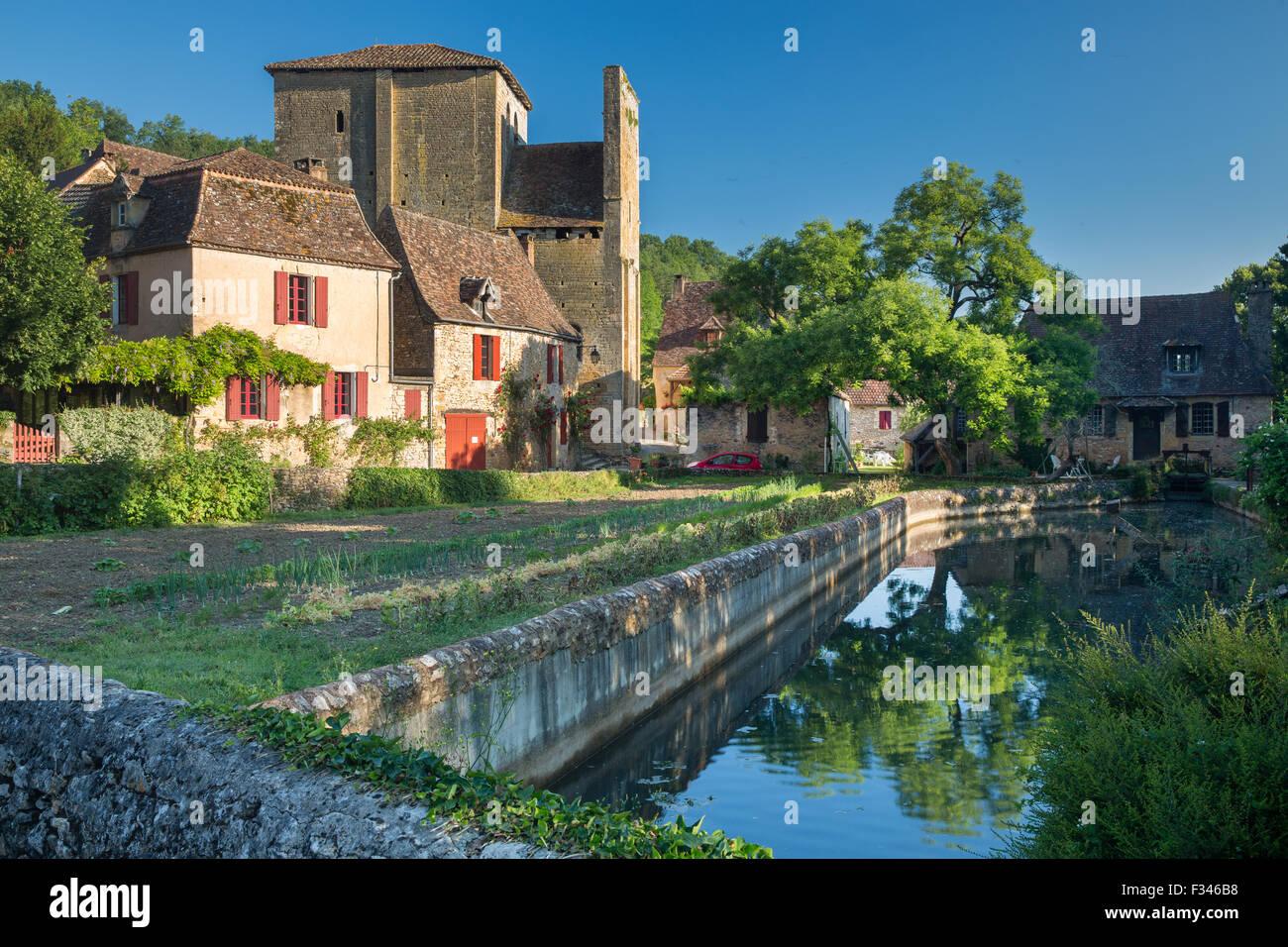 Urval, Pays de Bergerac, Périgord, Dordogne, Aquitaine, Frankreich Stockbild