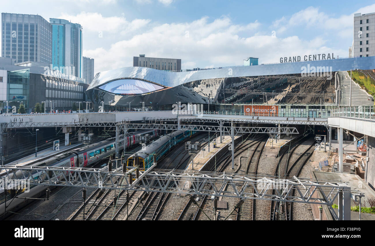 Grand Central am Bahnhof New Street, Birmingham Stockbild