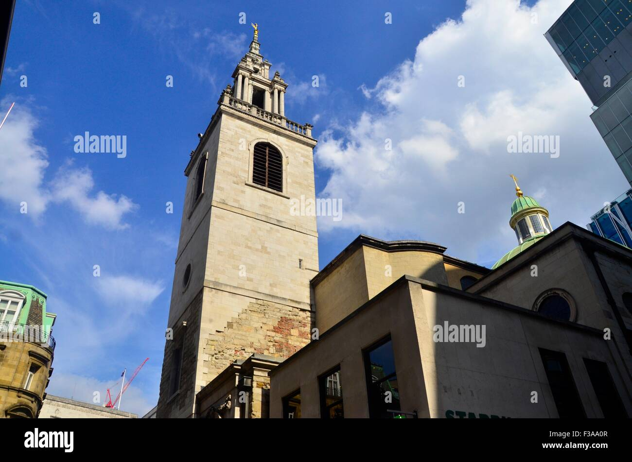 Kirche St. Stephan Walbrook, Wren Kirche, City of London, London, England, UK Stockfoto