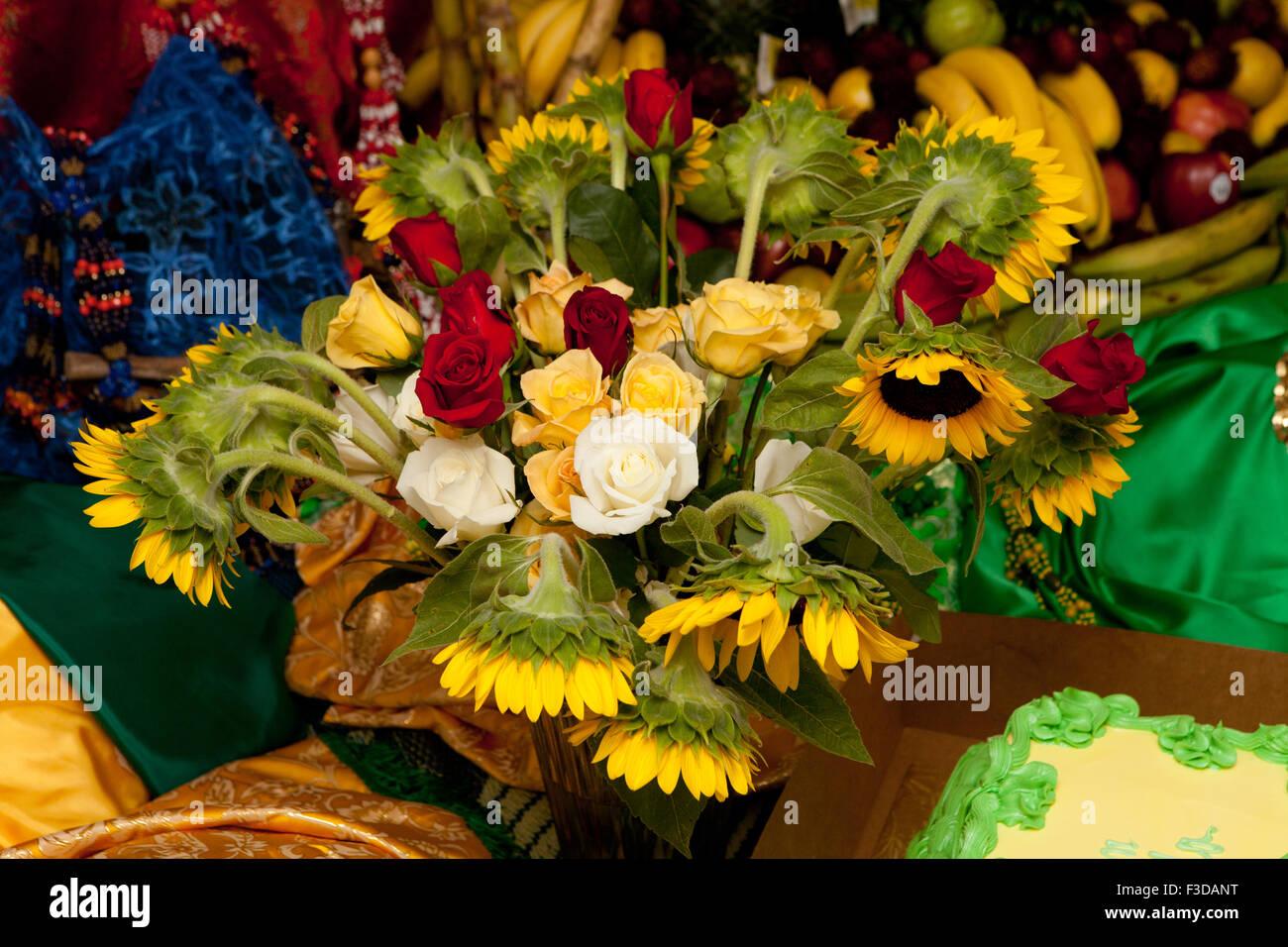 Orula Thron Bananen Zucker Zuckerrohr Sonnenblume Afro Cuban