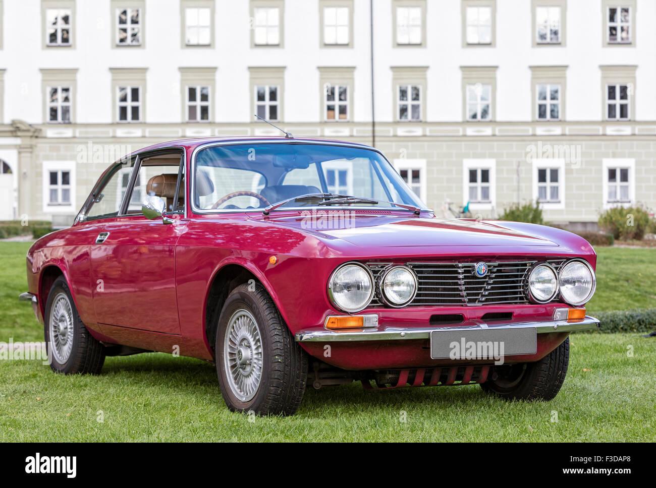 Alfa Romeo Oldtimer Stockbild