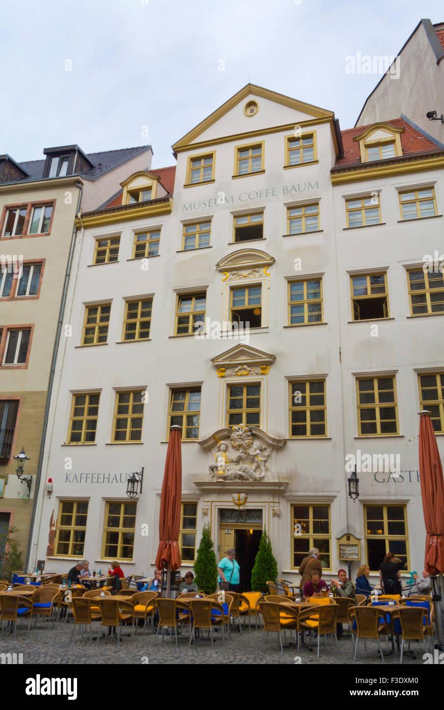 Museum Coffe Baum, Zum Arabischen Coffe Baum, Museum und Café, Kleine Fleischergasse, Altstadt, alte Stadt, Stockbild