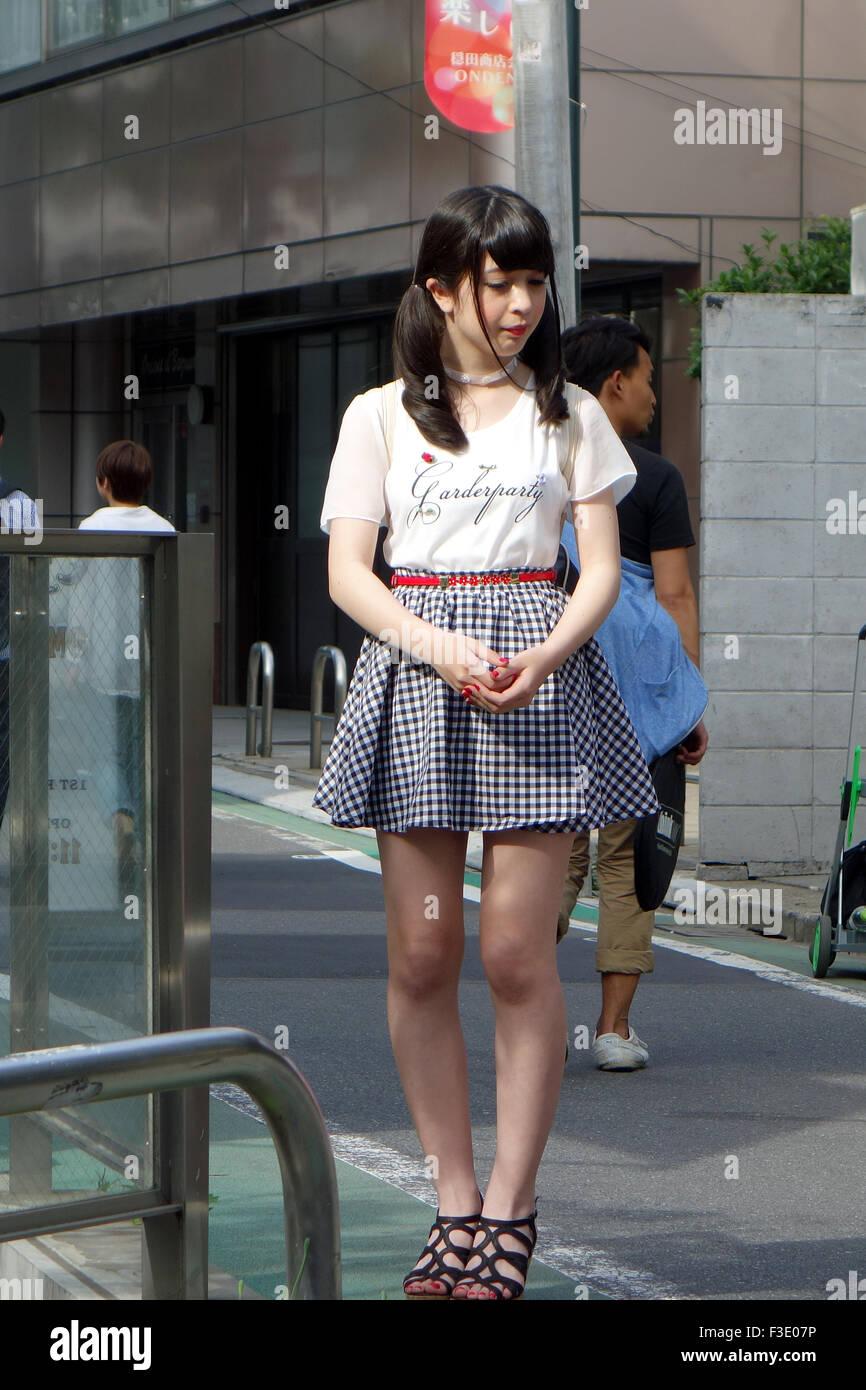 Japanische Frau Nacke