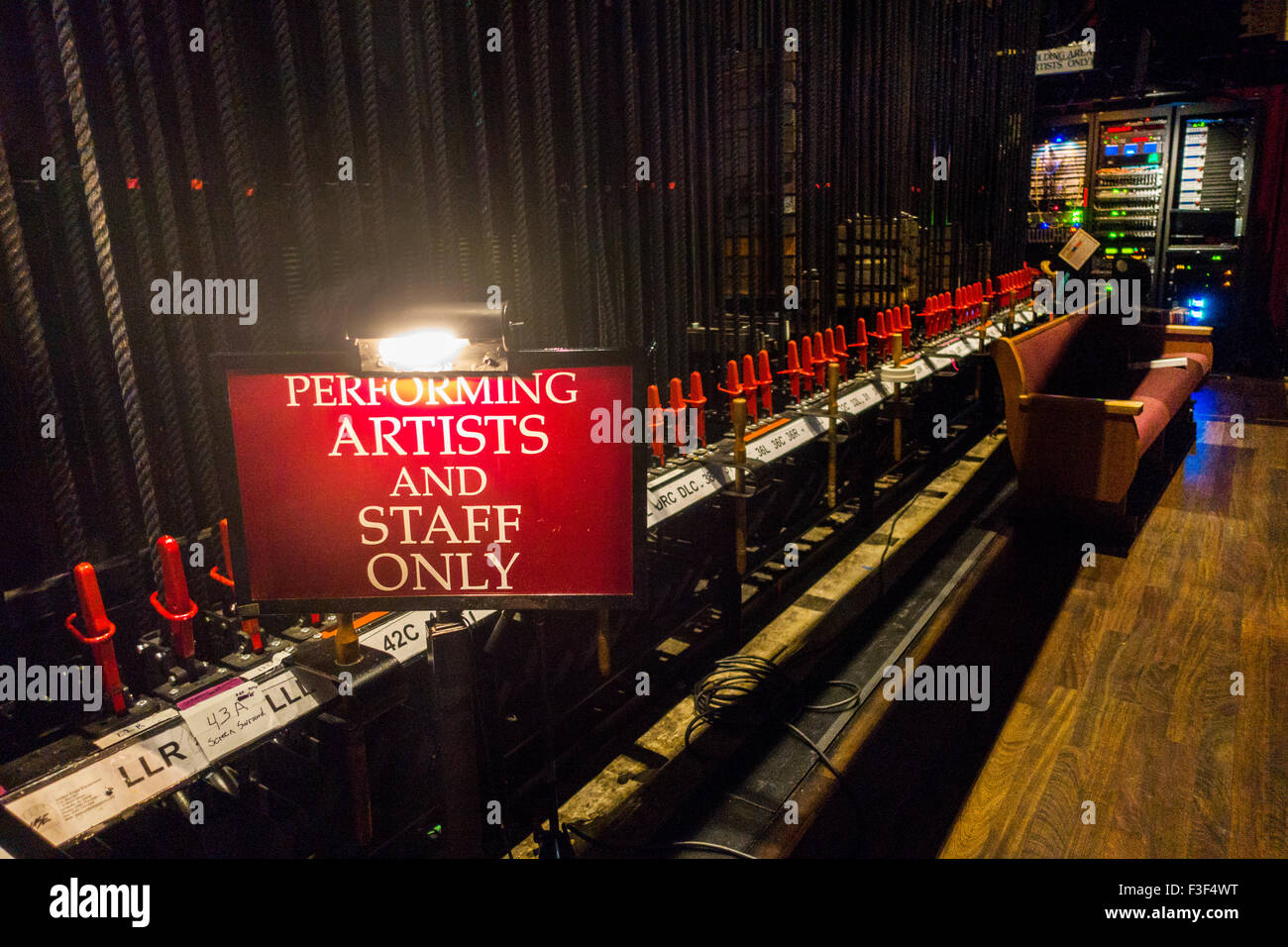 Grand Ole Opry in Nashville Tennessee Stockbild
