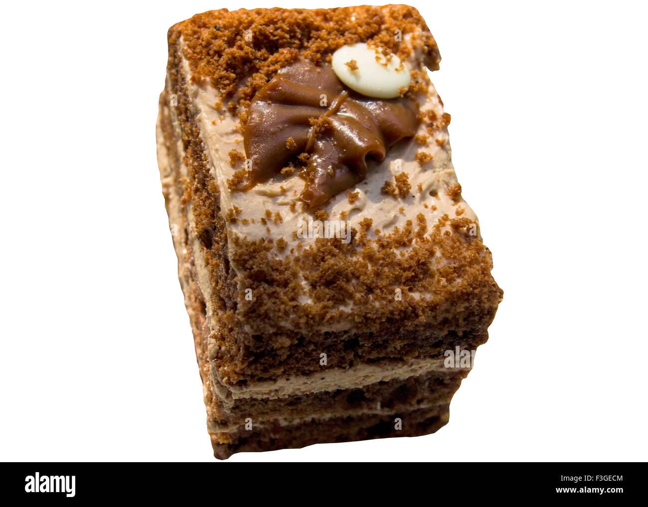 Kuchen Schnitt Dekoration Creme Fullung Slice Vereisung