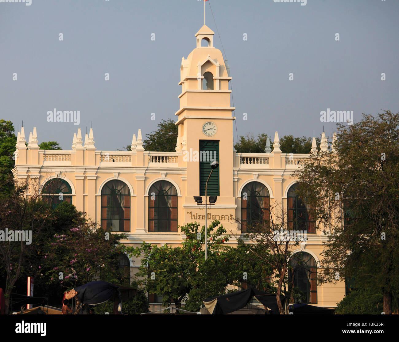 Thailand, Bangkok, historische Architektur, Stockbild