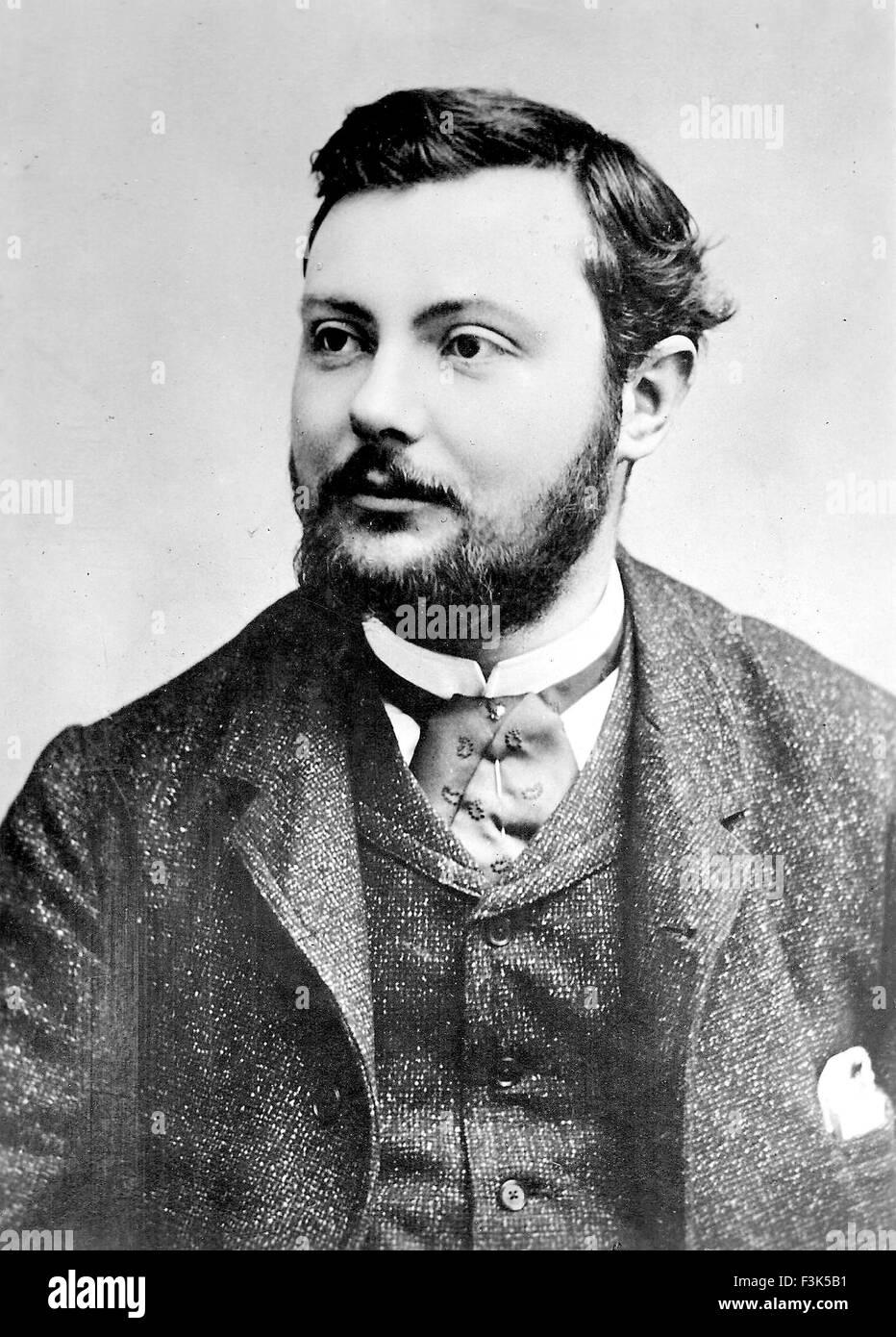 Französische Wissenschaftler PAUL HEROULT (1863-1914) Stockfoto