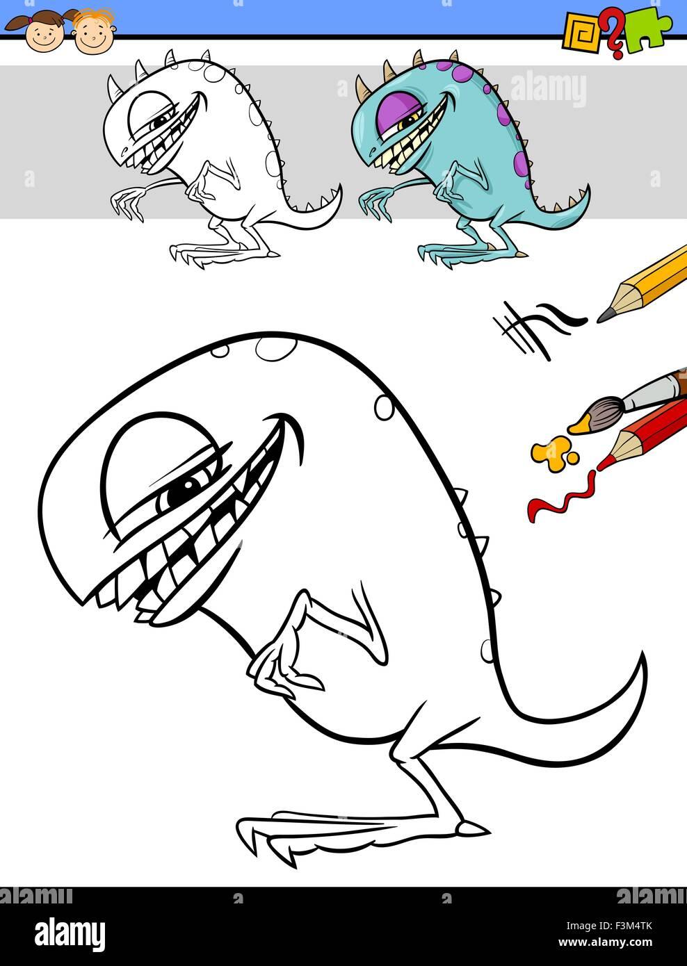 Niedlich Monster Färbung Bilder Zeitgenössisch - Beispiel ...