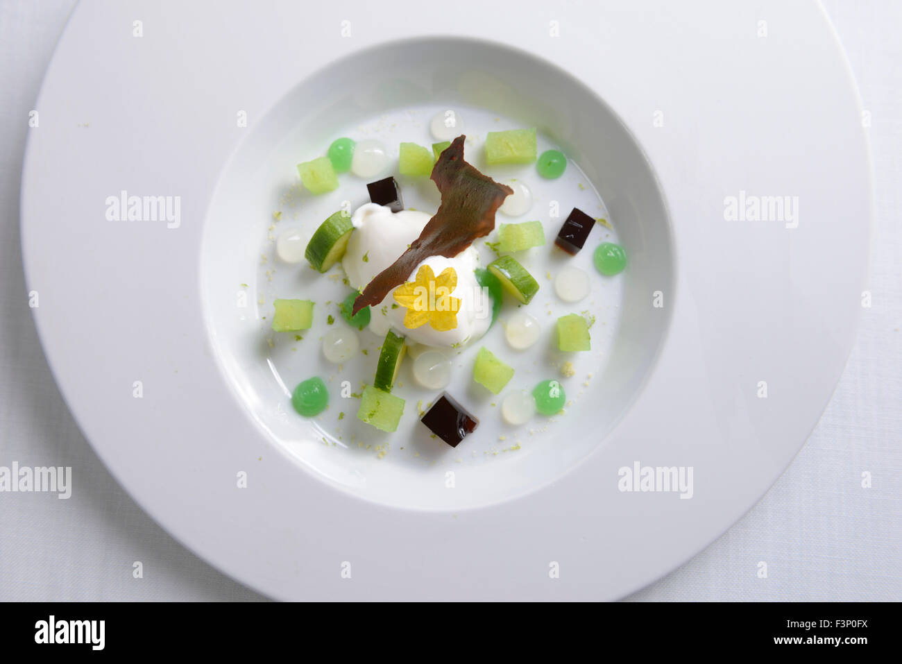 Gourmet-dessert Stockbild