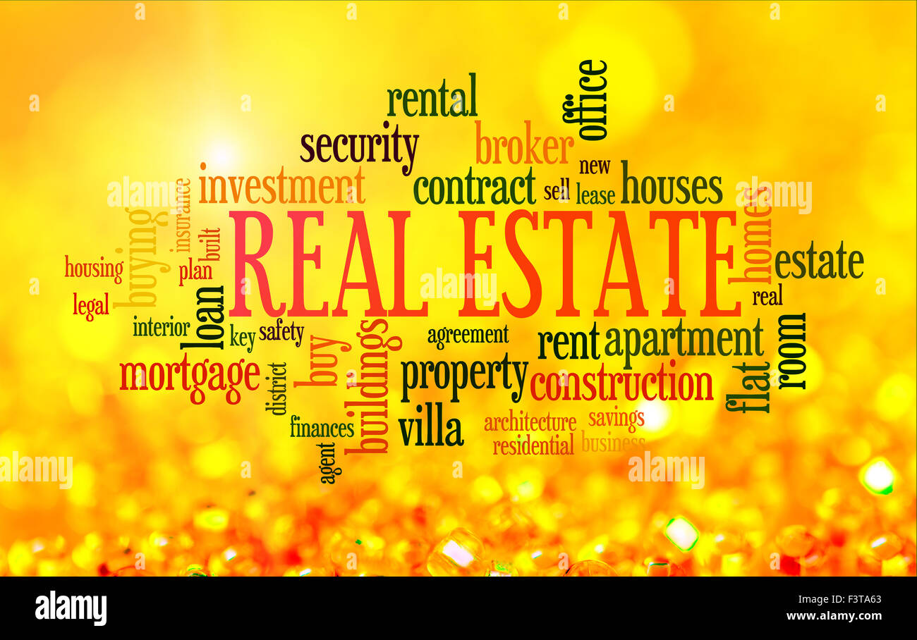 Real Estate Word Cloud Stockfotos & Real Estate Word Cloud Bilder ...