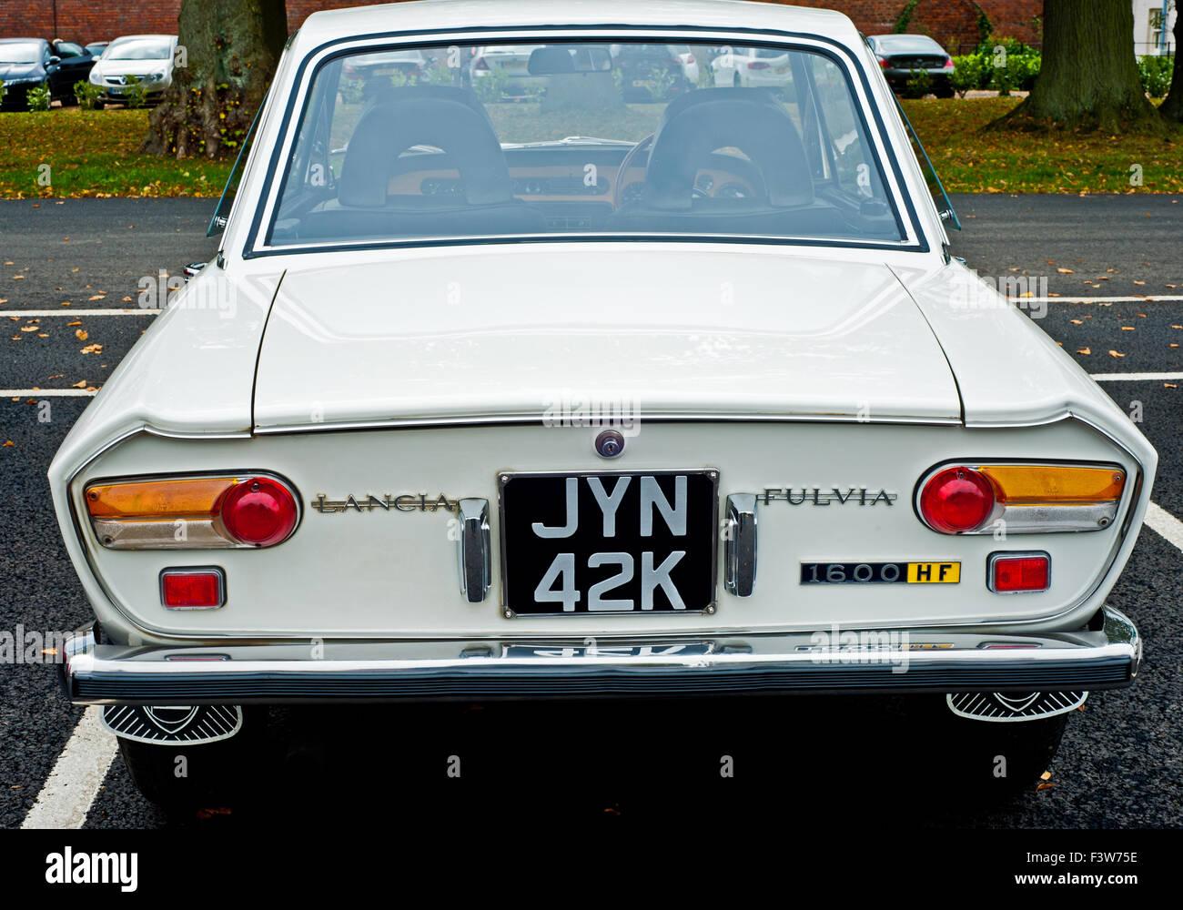 1971 Lancia Fulvia Stockbild